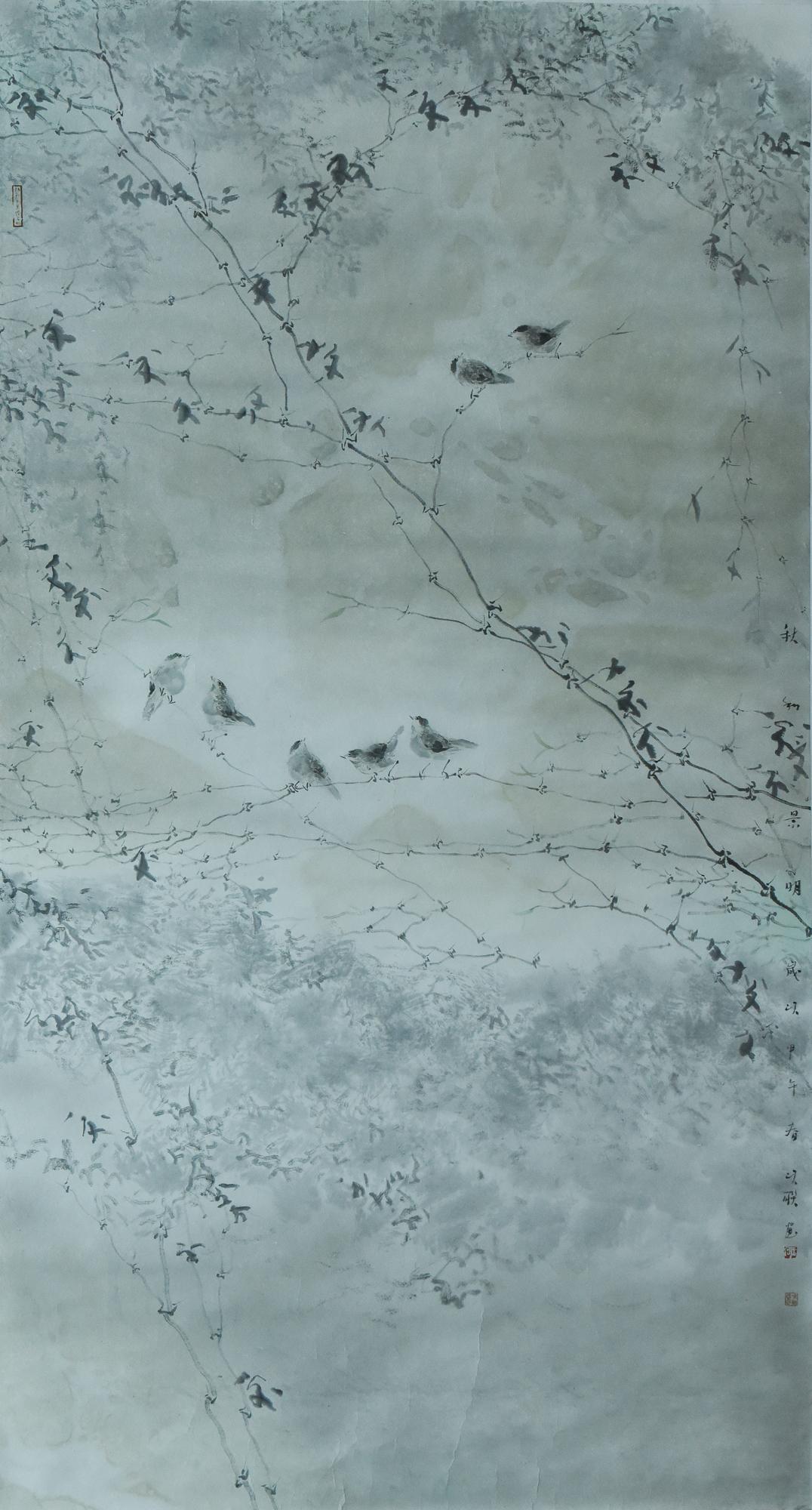 何次联:秋和景明97X180.jpg