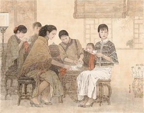 岑圣权-春茗-214x168cm.jpg